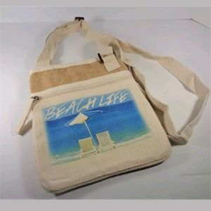 Handbags - NAUTICAL OVER THE SHOULDER BEACH TOTE BAG PURSE